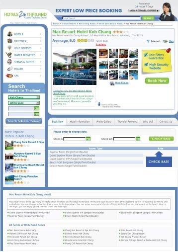 Mac Resort Hotel Koh Chang - Hotels 2 Thailand