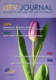 dPV Journal Ausgabe Nr. 19 Frühjahr 2020