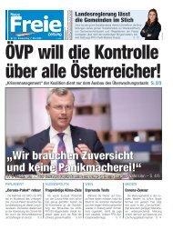 ÖVP will die Kontrolle über alle Österreicher!