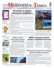 Mountain Times-Volume 49, Number 19 - May 06-12, 2020