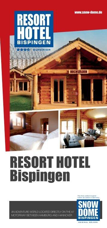 RESORT HOTEL Bispingen - SNOW DOME Bispingen