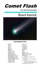 Comet Flash (Score)