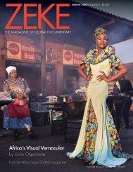 Africa's Visual Vernacular by Uche Okpa-Iroha