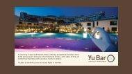 Island Bar Restaurant Overseas Corporate Packages
