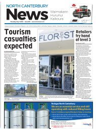 North Canterbury News: May 07, 2020