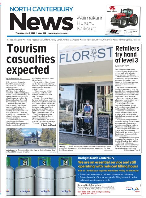 North Canterbury News: May 07, 2020
