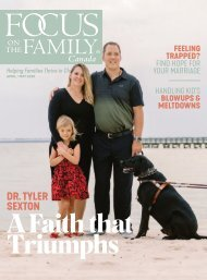 Focus on the Family Magazine - April/May 2020