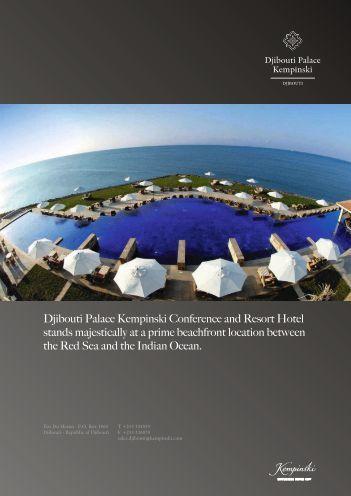 Djibouti Palace Kempinski Conference and Resort Hotel stands ...