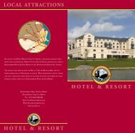 hotel & resort hotel & resort local attractions - Knightsbrook Hotel ...