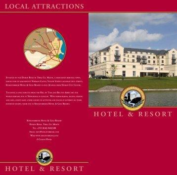 hotel & resort hotel & resort local attractions - Knightsbrook Hotel ...
