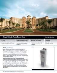 Rosen Shingle Creek Resort Hotel - Texas Air Products