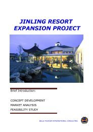 jinling resort expansion project - Belle Tourism International