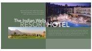 RESORT HOTEL - Indian Wells