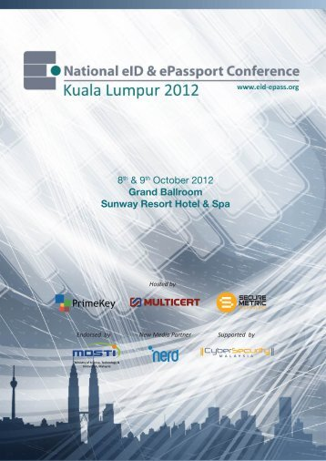 8th & 9th October 2012 Grand Ballroom Sunway Resort Hotel & Spa