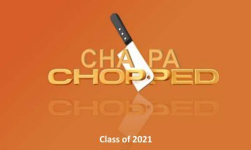 CHAPA Chopped e-book