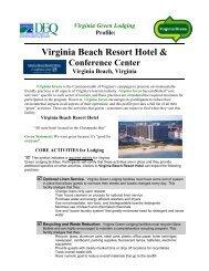 Virginia Green Lodging Profile: Virginia Beach Resort Hotel ...