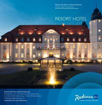 ResoRt HoteL - Radisson Blu Resort Schloss Fleesensee