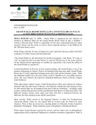 grand wailea resort hotel & spa announces bryan