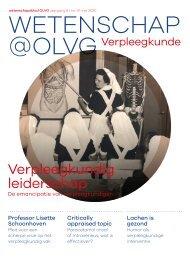 Wetenschap@OLVG Verpleegkunde Mei 2020