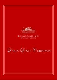 2012 Lakes Resort Hotel Christmas Festive Brochure Click