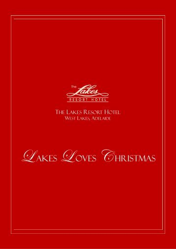 2012 Lakes Resort Hotel Christmas Festive Brochure Click