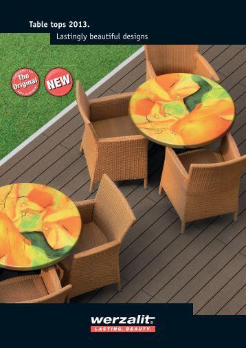 Table tops 2013. - Resort Hotel Supply - The North Ltd