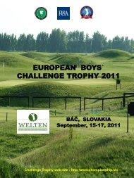 results archives egachallengetrophy - boys - European Golf ...