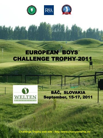 results archives egachallengetrophy - boys - European Golf ...