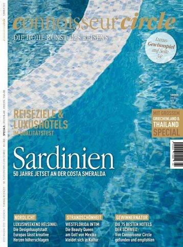Sardinien - Connoisseur Circle