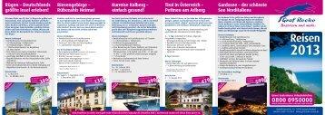 Flyer-Download - Graf Recke Reisen