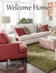 Temple Furniture - Catalog And Supplements