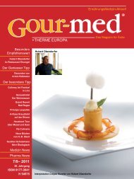 +THERME EUROPA 7/8– 2011 - Gour-med