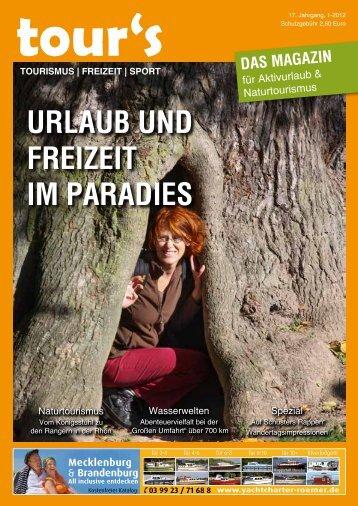PDF herunterladen - tour´s - Das Magazin