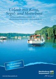 B - Urlaub an Ostsee und Seen - Tourismusverband Mecklenburg ...