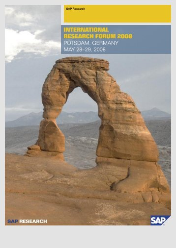 partIcIpants - International Research Forum