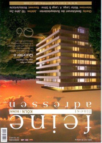 Feine Adressen KÖLN (03/2010) - The New Yorker Hotel