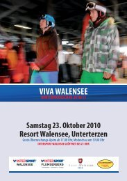 VIVA WALENSEE - Intersport Walensee