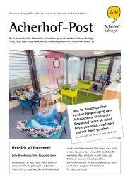 Acherhof-Post Nr. 07   8. Mai 2020