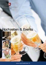 Hochzeiten & Events - Resort Walensee