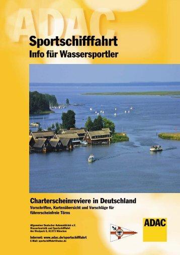 Charterschein - Wassertourismus in Deutschland