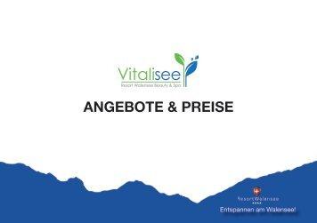 ANGEBOTE & PREISE - Resort Walensee