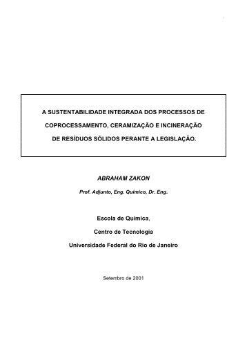 2001 AZ-IBC-RESOTEC - A sustentabilidade integrada,o