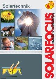 Solartechnik - Fachhandel für erneuerbare Energien