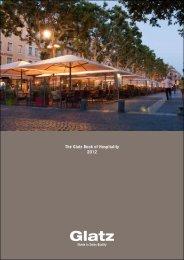The Glatz Book of Hospitality 2012 - Glatz Sonnenschirm Shop