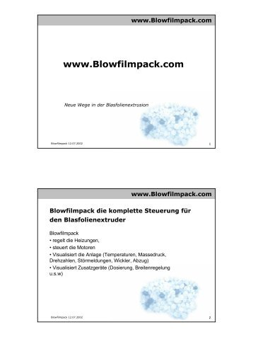Blowfilmpackinfo (deutsch)