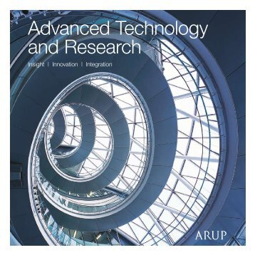 Advanced Technology and Research - Arup