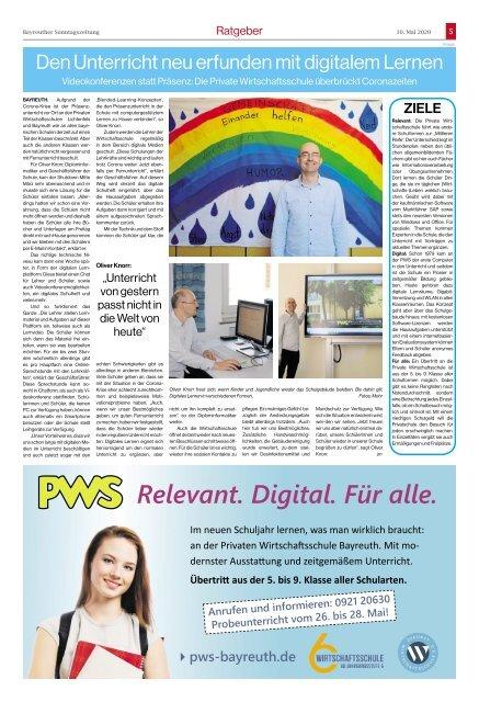 2020-05-10 Bayreuther Sonntagszeitung