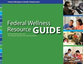 Federal Wellness Resource - Centers for Disease Control and ...