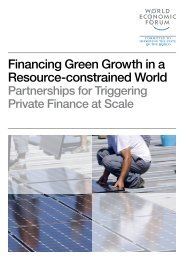 Financing Green Growth in a Resource-constrained World - World ...