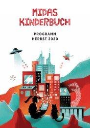 Vorschau Midas Kinderbuch Herbst 2020
